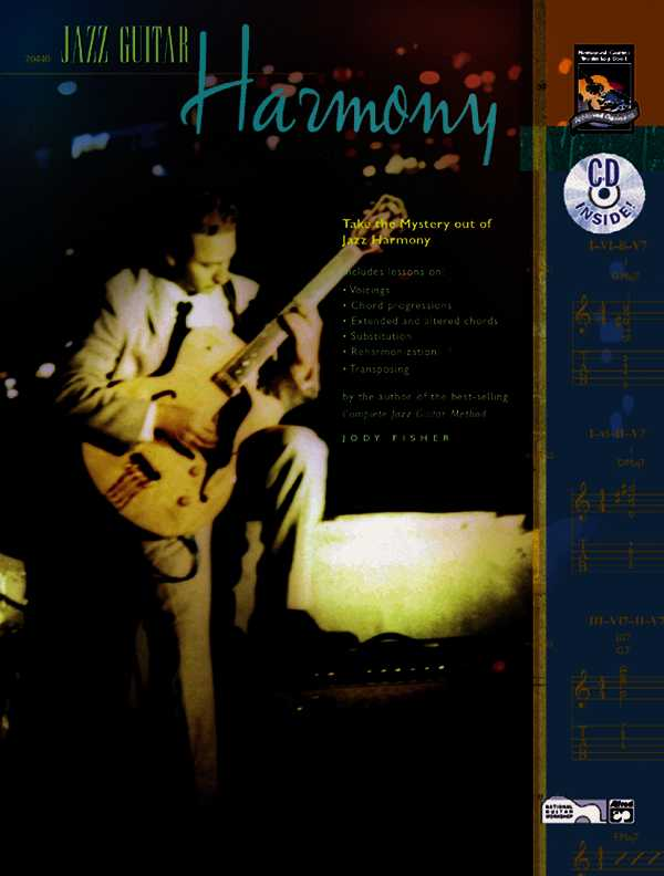 Jazz Guitar Harmony By Fisher, Jody